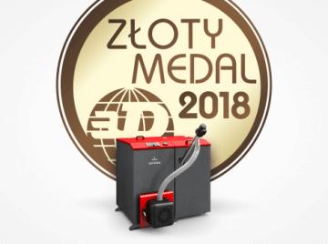 Galmet Złoty Medal dla kotła Galmet - INSTALACJE 2018