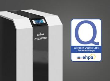 Galmet Pompa ciepła Maxima z EHPA-Q bezkonkurencyjna