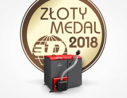 Galmet - Złoty Medal dla kotła Galmet - INSTALACJE 2018