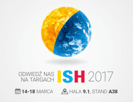 Galmet - Zapowiedź: targi ISH 2017