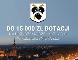 Galmet - Kędzierzyn-Koźle dotuje wymianę kotłów c.o.
