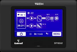 Galmet - Сенсорный регулятор для основного теплового насоса - ST-53.2