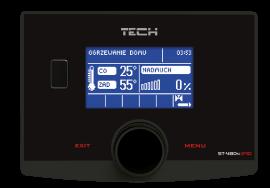 Galmet - Regulator kotła KWP - TECH ST-480N zPID  - dostępny w standardzie